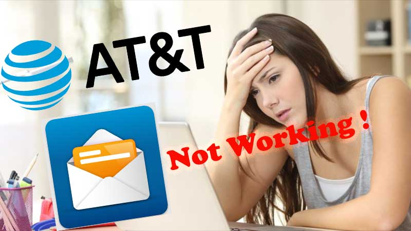 AT&T Email isn't Working