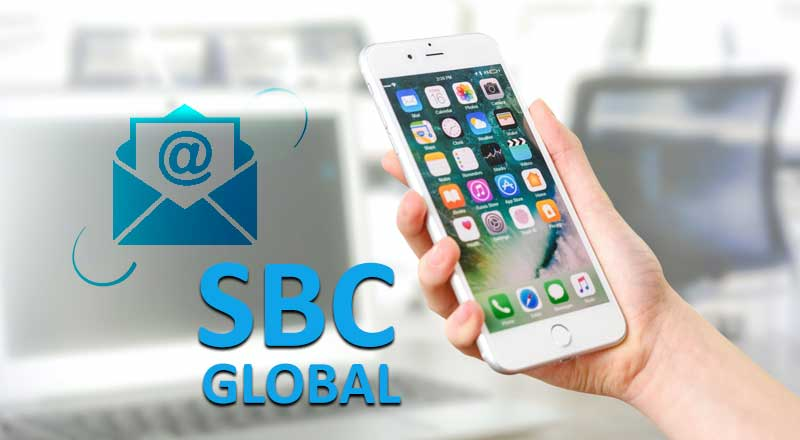 setting up sbcglobal email on iphone
