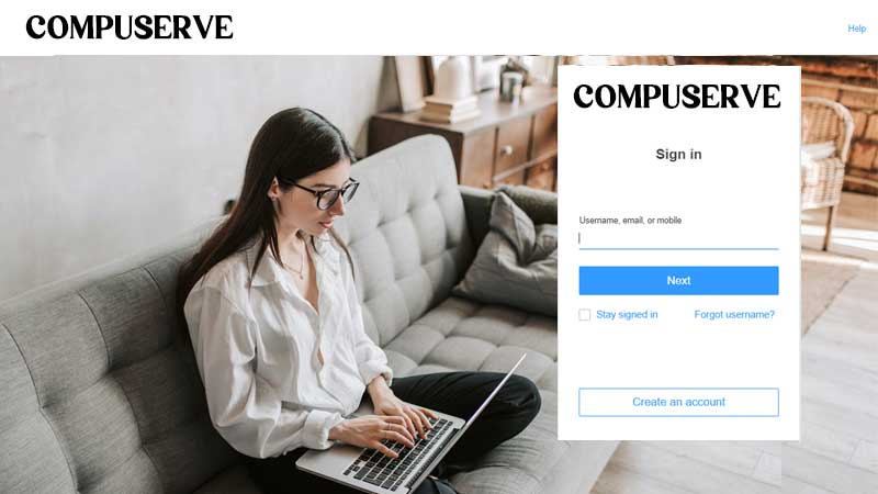 Comuserve email login